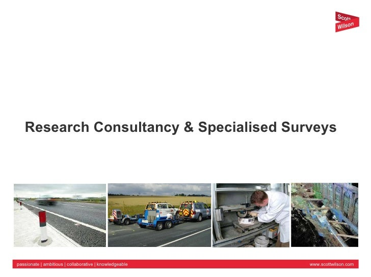 Research Consultancy & Specialised Surveys
