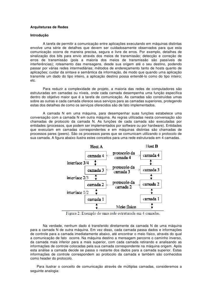 Rct   4 - modelos e arquiteturas de rede - internet e tcp ip