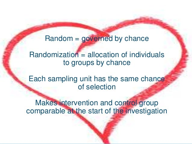 randomized trial of a control group and Randomised controlled trials are the most rigorous way of determining whether a cause-effect relation exists between treatment and outcome and for assessing the cost effectiveness of a treatment they have several important features: random allocation to intervention groups patients and trialists.