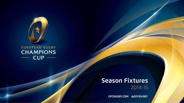 RC Toulon calendrier européen 2014 - 2015