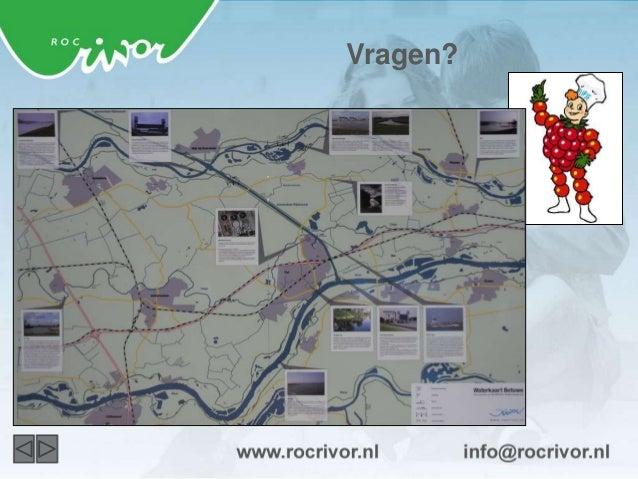 Meer informatie  www.rocrivor.nl  facebook.com/jouwrocrivor twitter.com/rocrivor  youtube.com/rocrivor