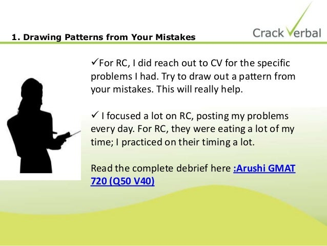 8 RC Tips from GMAT Top Scorers Slide 3