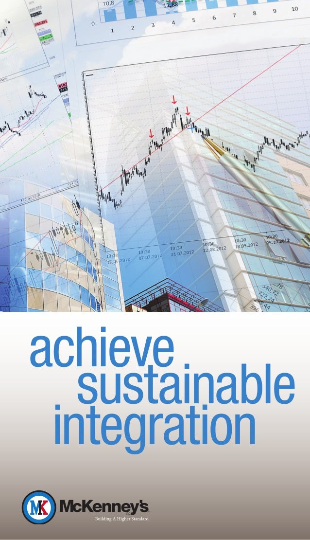 achieve   sustainable integration