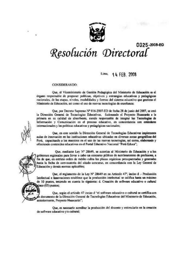 Rd 025-2008.pdf- certificacion software