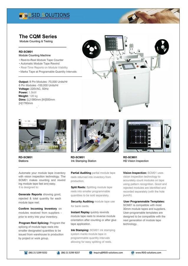 Module Counting Machine RD-SCM01