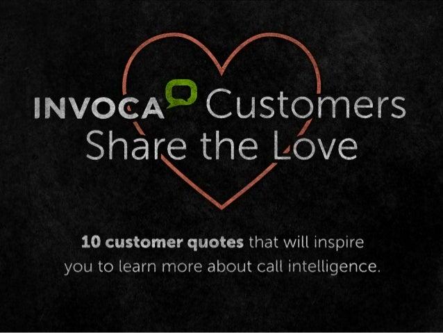 Invoca Customers Share the Love