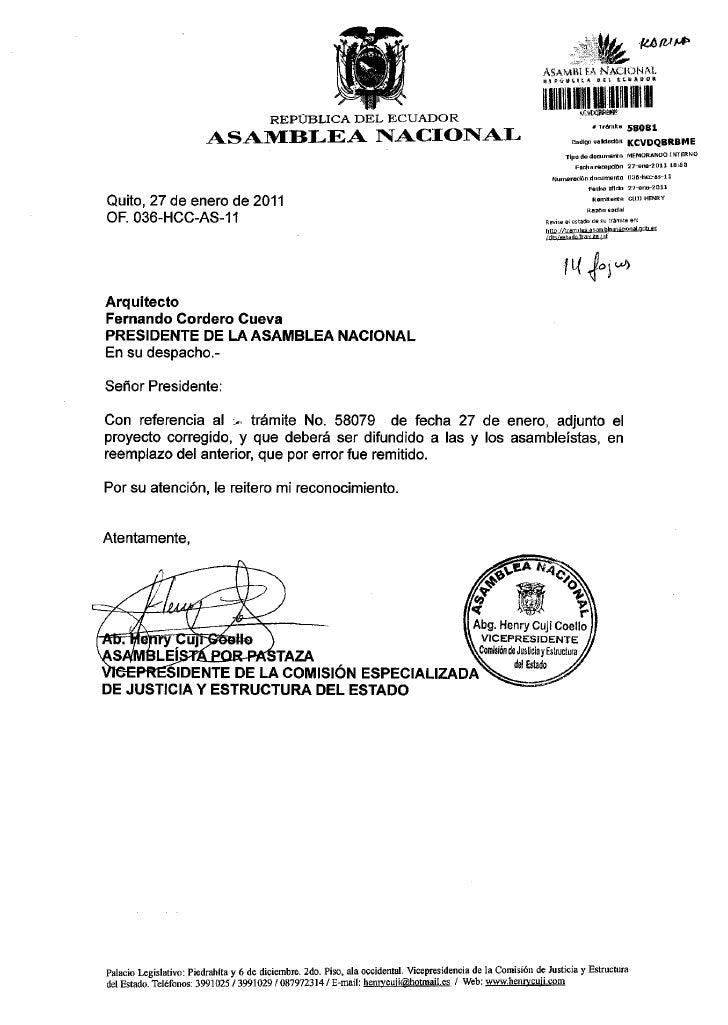PAPTD                                             REPÚBLICA DEL ECUADOR                                                   ...
