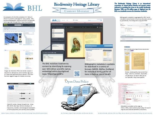 Biodiversity Heritage Library                                                                            The Biodiversity ...