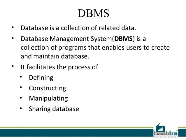 Rdbms dbms difference pdf and between