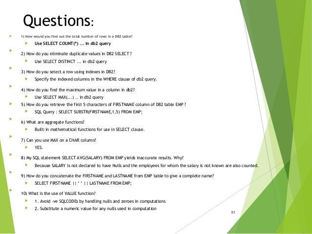RDBMS concepts