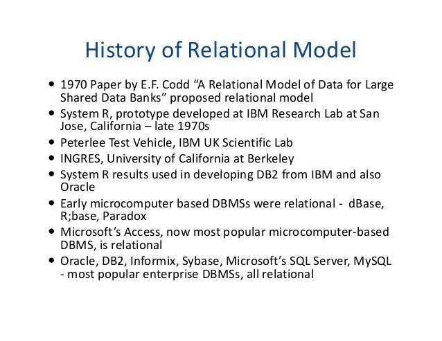 Rdbms research paper