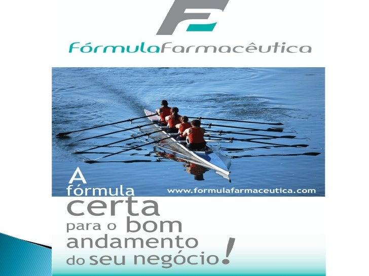 A Fórmula Farmacêutica é uma consultoria dedicada em atender e   assessorar empresas de modo a implantar as Boas Práticas ...