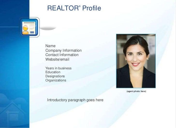 Realtor.org listing presentation Slide 3