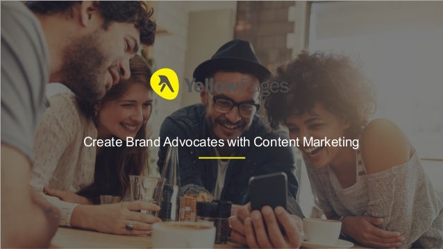 Create Brand Advocates with Content Marketing