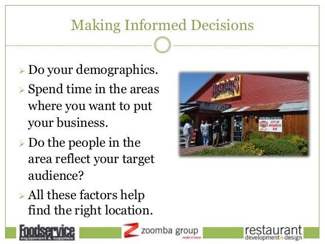 Restaurant development design real estate modeling and