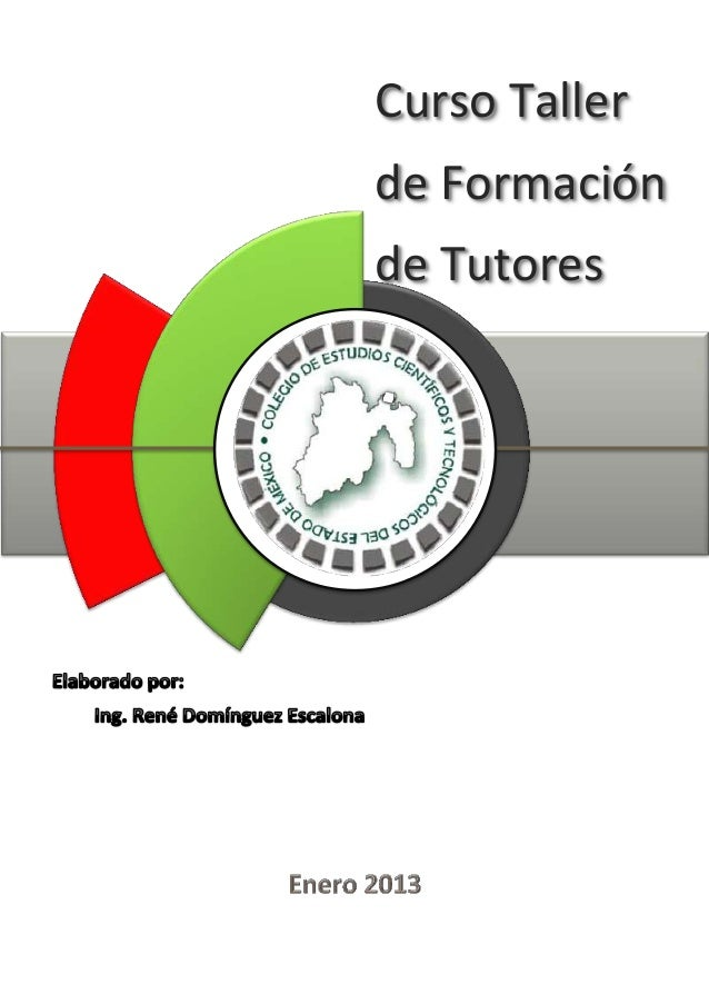 Curso Tallerde Formaciónde TutoresCECY