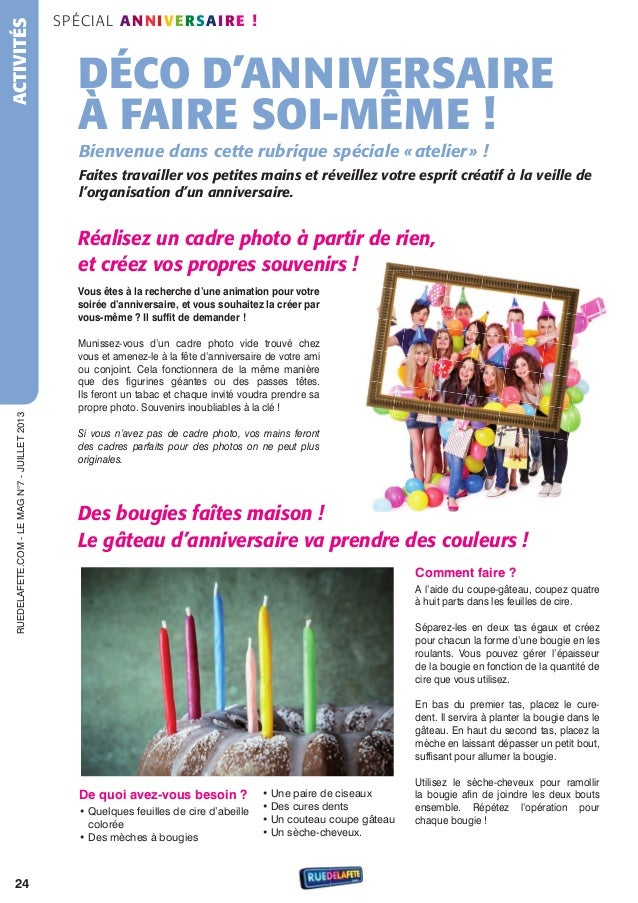 Magazine N 7 Anniversaire Adulte