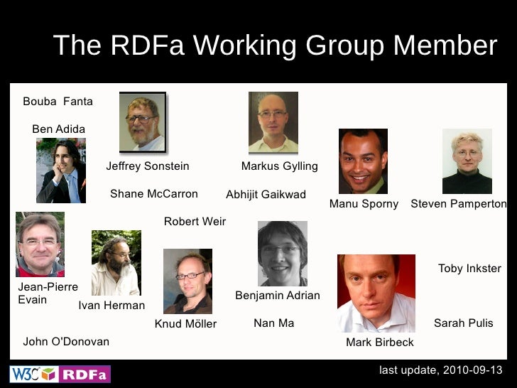 RDFa 1.1: Adding Machine-readable Hints  to your Webpage Slide 3