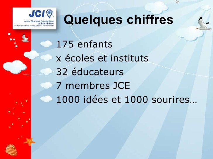 Quelques chiffres <ul><li>175 enfants </li></ul><ul><li>x écoles et instituts  </li></ul><ul><li>32 éducateurs </li></ul><...