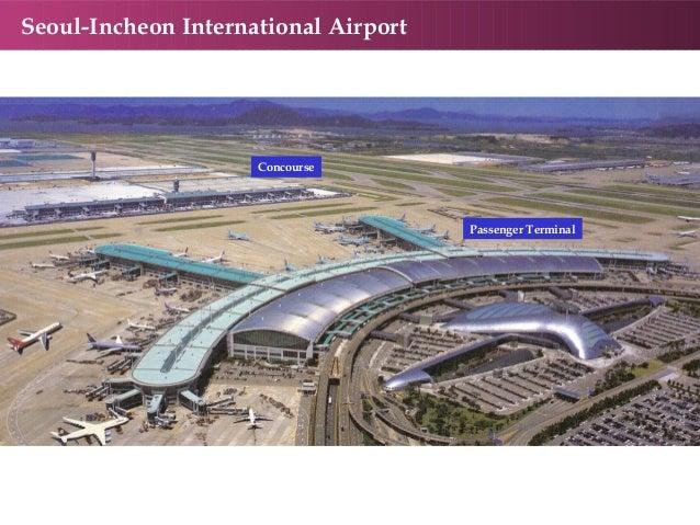 Seoul-Incheon International Airport in Korea