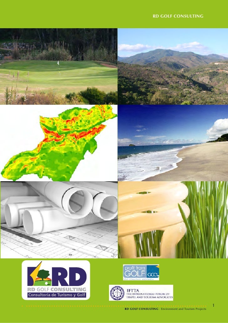 RD GOLF CONSULTING                                                        1RD GOLF CONSULTING · Environment and Tourism Pr...