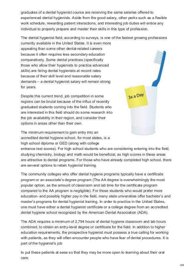Rdhygienist Dental Hygienist Salary Guide