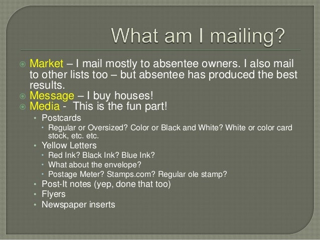 Direct Mail & Automation for Real Estate Investing