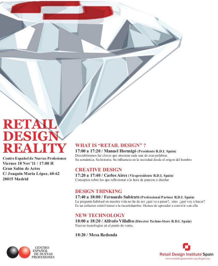 "RETAILDESIGNREALITY                                WHAT IS ""RETAIL DESIGN"" ?                                       17:00 a..."