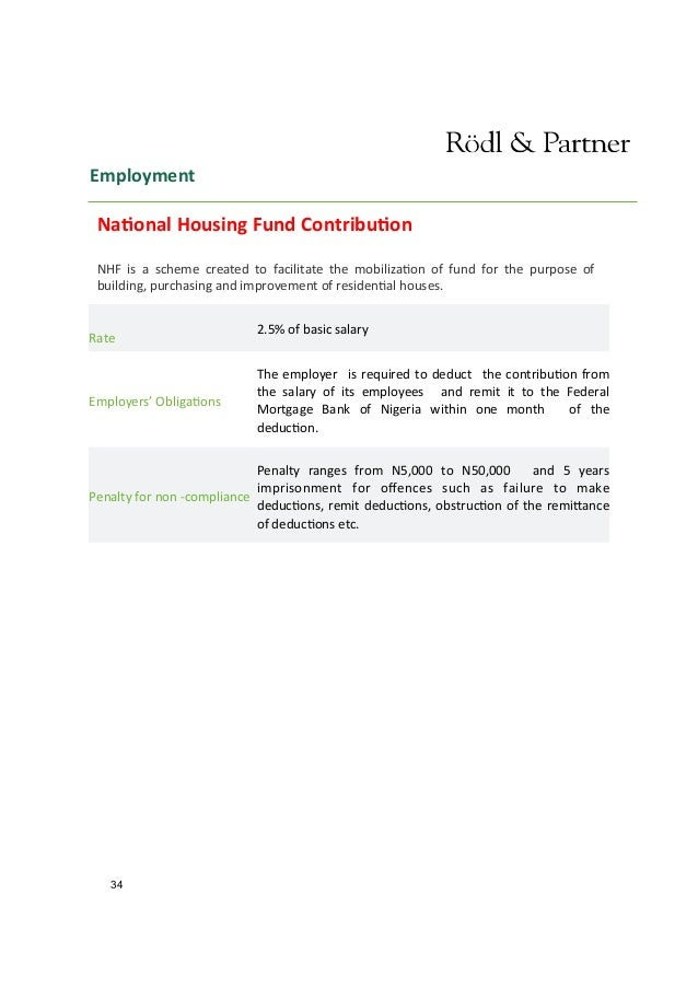 WFO Roedl & Partner - Nigerian Investment Guide