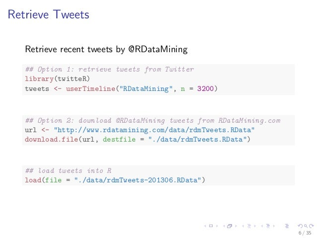 Geotagged tweets data mining