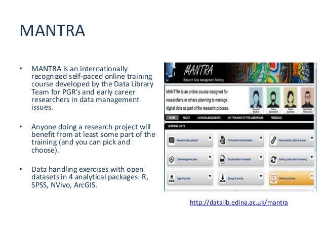 http://datashare.is.ed.ac.uk/ www.ed.ac.uk/is/data-managementhttp://datablog.is.ed.ac.uk/http://datalib.edina.ac.uk/mantra...