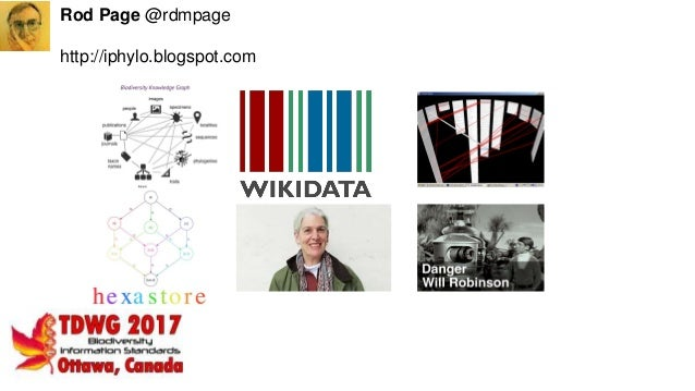 Rod Page @rdmpage http://iphylo.blogspot.com