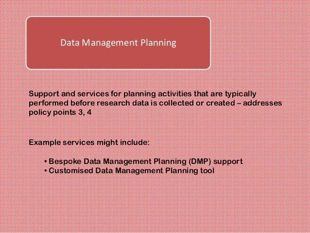 Active Data InfrastructureFacilities to store data that is actively used in current researchactivities, to provide access ...