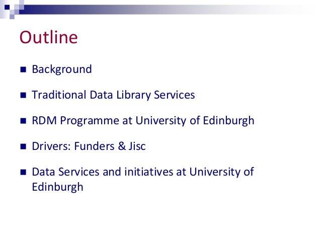 RDM through a UK lens - New Roles for Librarians?  Slide 2