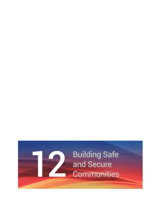Chapter 12 Building Safe and Secure Communities | 91