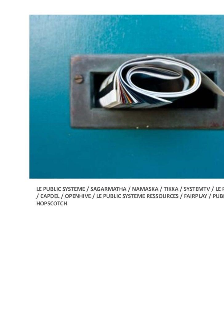 LEPUBLICSYSTEME/SAGARMATHA/NAMASKA/TIKKA/SYSTEMTV/LEPUBLICSYSTEMEPCO/CAPDEL/OPENHIVE/LEPUBLICSYSTEM...
