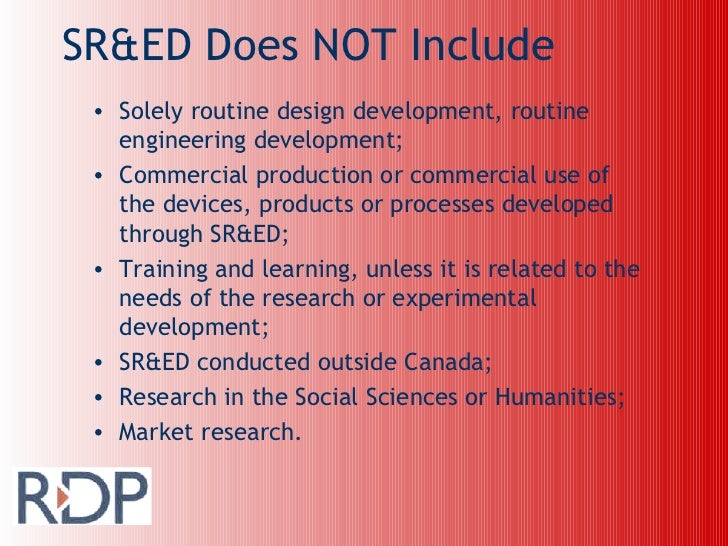 Rdp Software & IT Eligibility Slide 3
