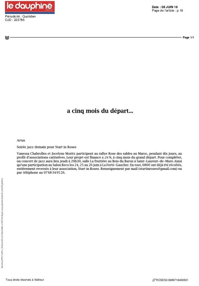 Date : 08 JUIN 16 Périodicité : Quotidien OJD : 223785 Page de l'article : p.16 Page 1/1 0QzGskPRhTzGPa_fGBwxHZLzVGXeFdMLi...