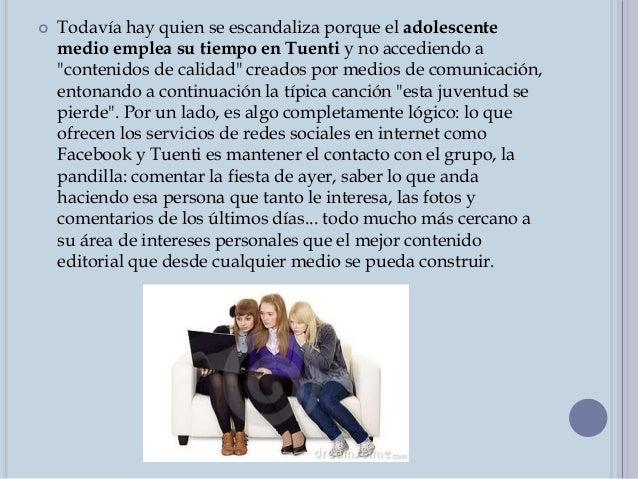LA PRIVACIDAD  Como señala Albert analizando otro estudio de redes sociales hecho en España (Zed Digital, PDF), la privac...