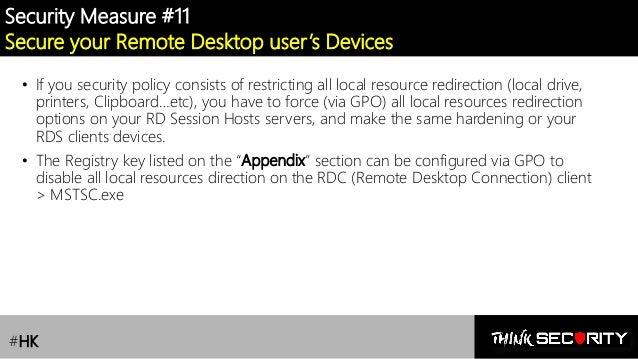 RDS /Remote Desktop Services] Lesson 1 : Security Risks & Best Pract…