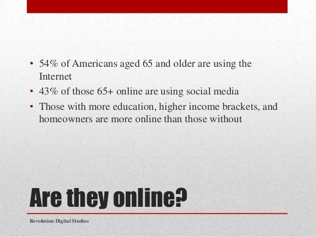 Social Media Marketing to Seniors-Revolution Digital Studios Slide 3
