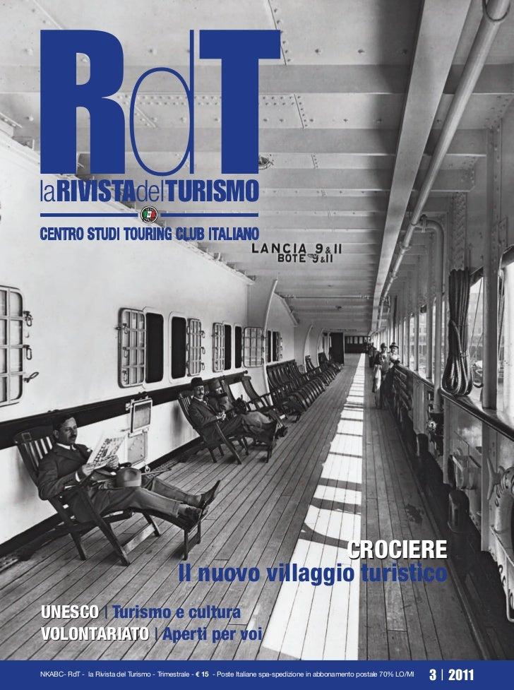 RdTlaRIVISTAdelTURISMOCENTRO STUDI TOURING CLUB ITALIANO                                                             CROCI...