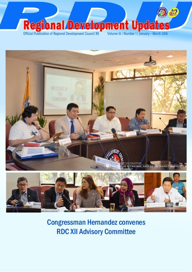 4 5Congressman Hernandez convenes RDC XII Advisory Committee