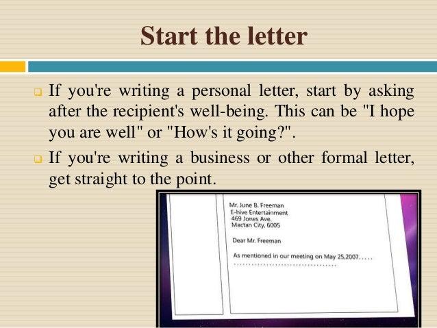 Letter Closings