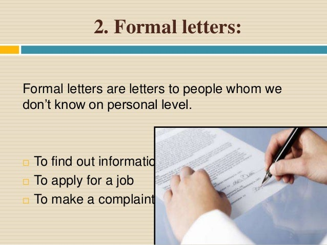 Letter writing complaint 9 3 semi formal letters altavistaventures Images