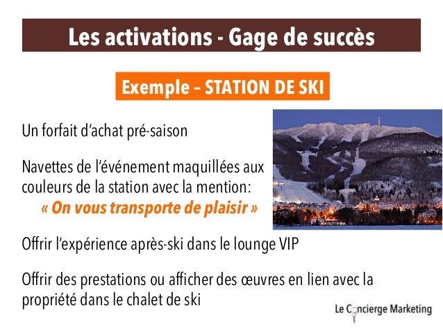 Exemple – STATION DE SKI Offrir l'expérience après-ski dans le lounge VIP Navettes de l'événement maquillées aux couleurs ...