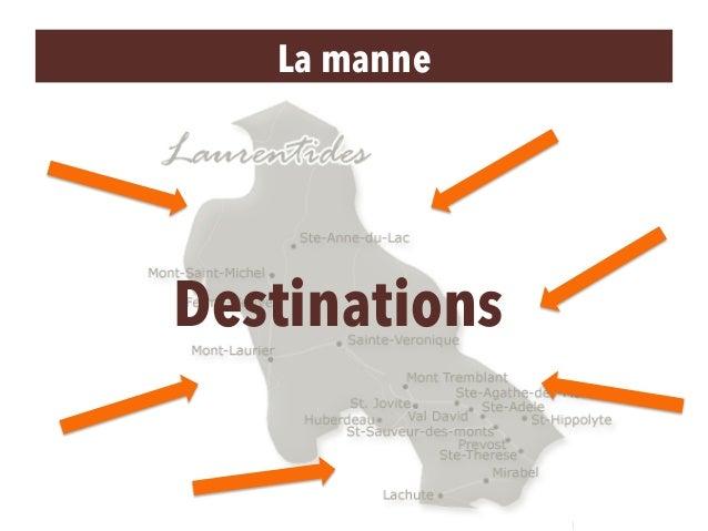 La manne Destinations