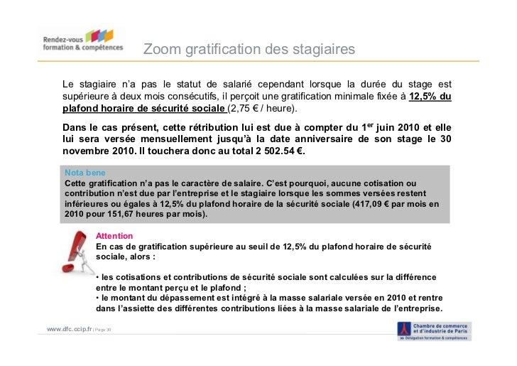 Taxe d 39 apprentissage 2011 ccip d l gation formation - Plafond horaire de la securite sociale ...