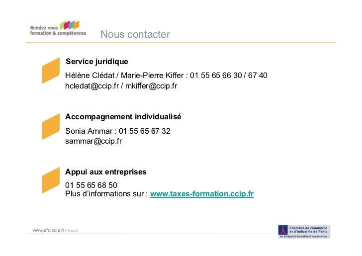 Taxe d 39 apprentissage 2011 ccip janvier 2011 for Chambre de commerce et d industrie de paris ccip