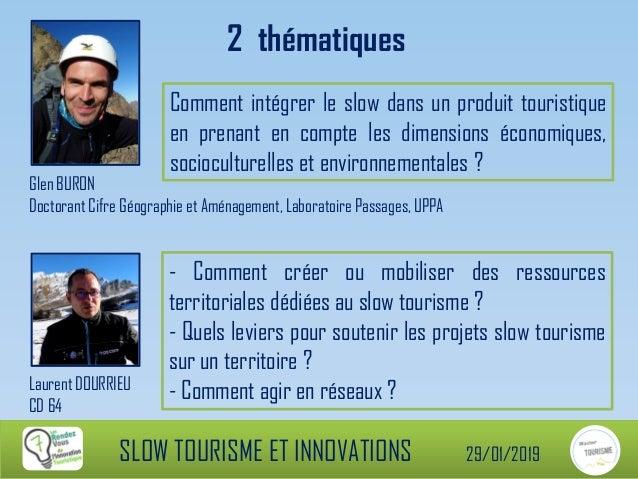 RDV-IT 7ème édition Slow Tourisme & Innovations 2/3 Slide 2